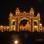 mysore palace lights 3