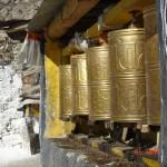 tibet drepung prayer wheels