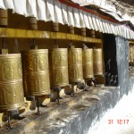 tibet drepung prayer wheels 2