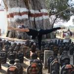 yoga shot virabhadrasana III