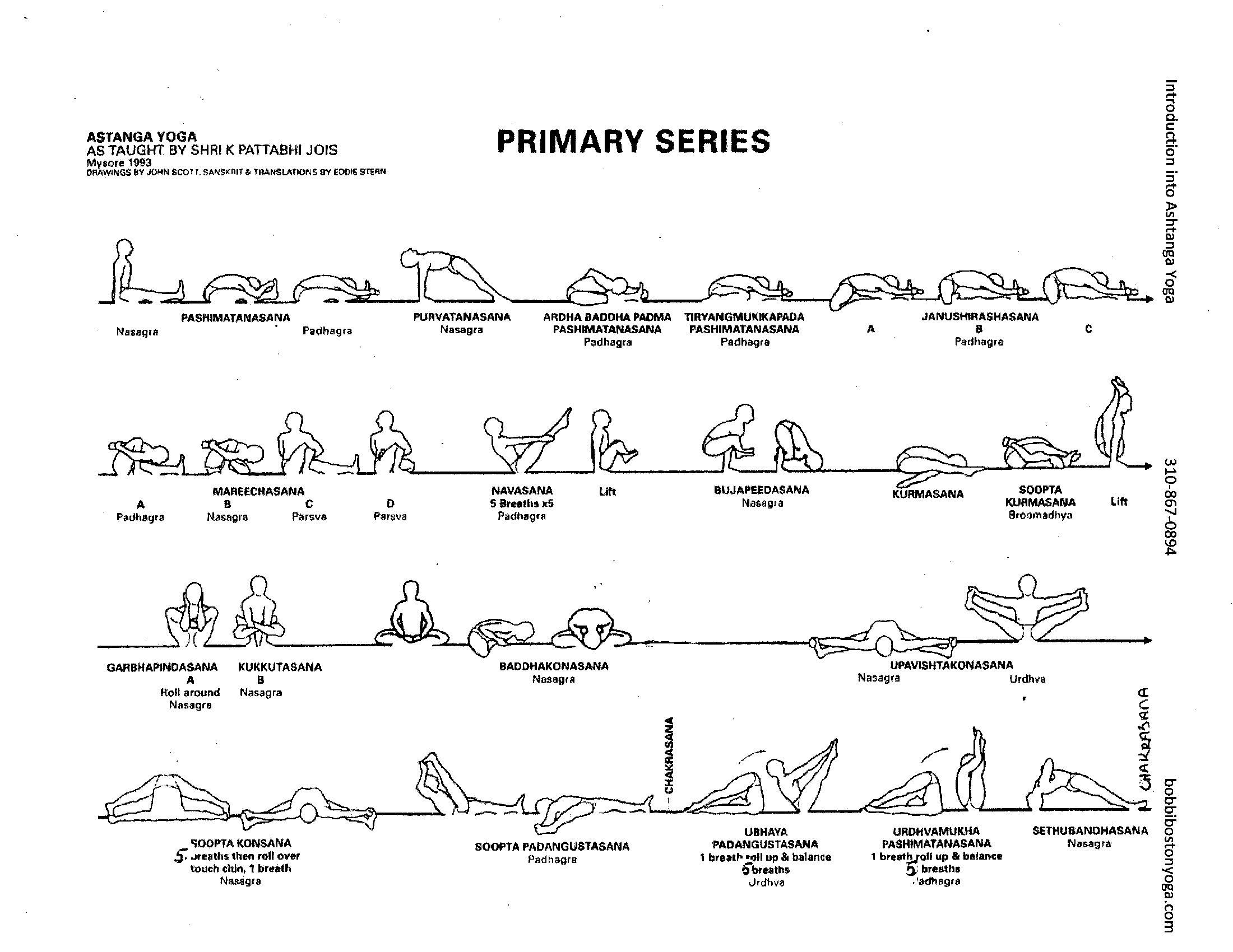 3 primary series